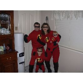 Easy to Make Adult Costumes | The Incredibles Costume | Easy Homemade Halloween Costumes | Disney ...