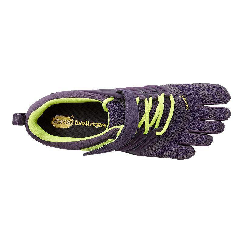 f0961e1699e2 Vibram Women s Fivefinger V-Train Training Shoes - Purple Lime Green ...