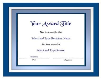 Blank Certificate Templates On Blank Certificate Template