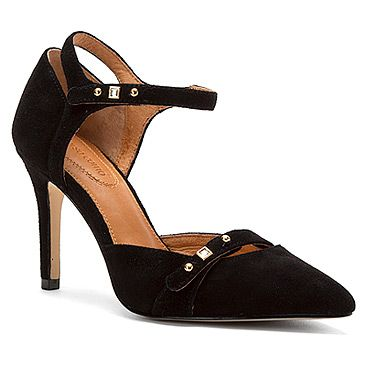 Corso Como Park Slope found at #OnlineShoes black suede w/ 3in heels