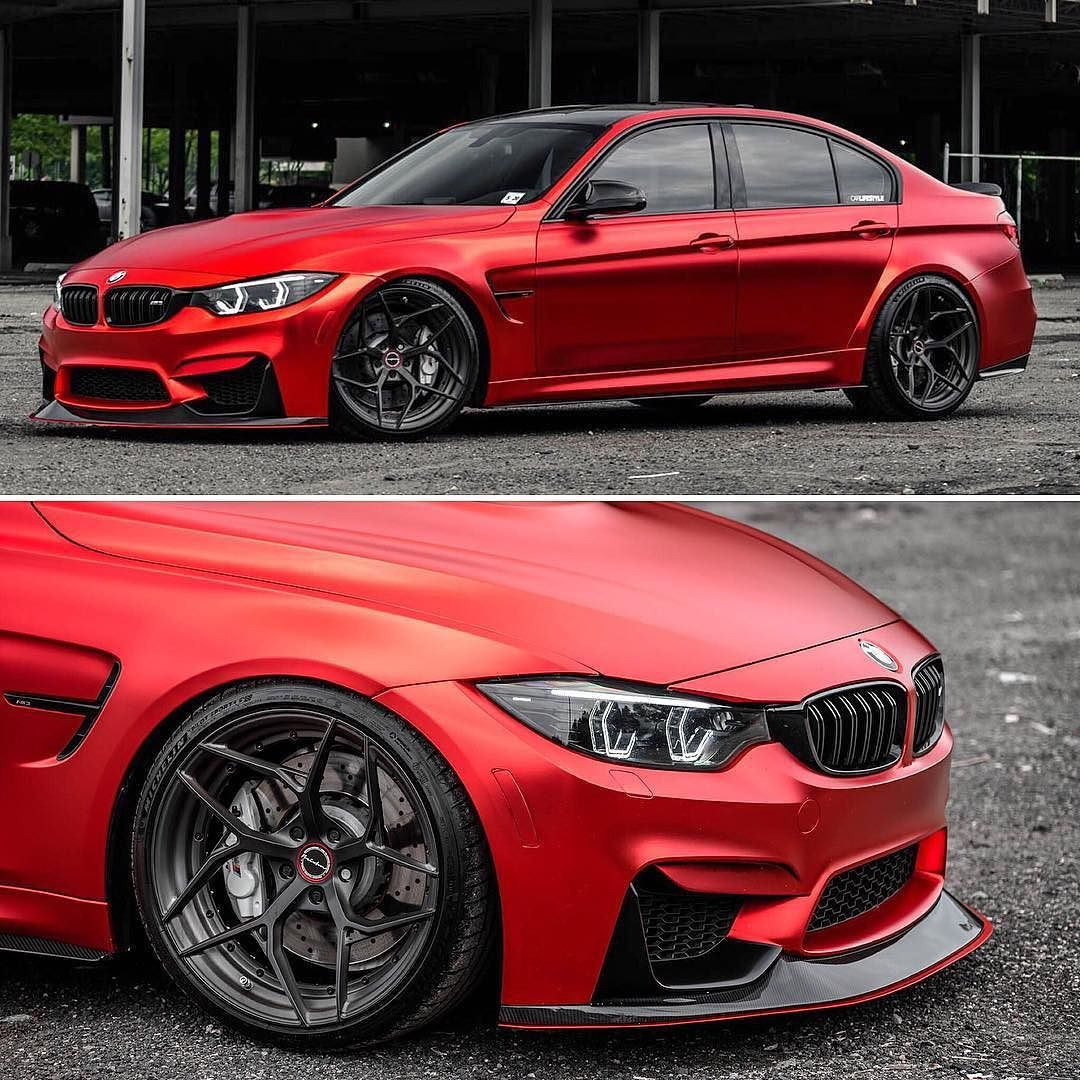 Bmws Cars: Show Stopping BMW M3 Equipped With Forged PF5 Wheels By
