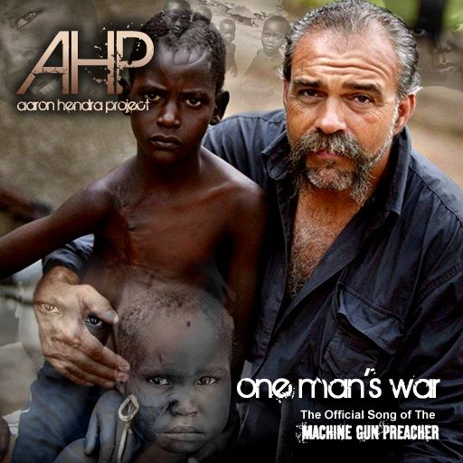 """100% of the iTunes downloads of my hubby's song """"One Man's War"""" will be donated to our dear friend, Sam Childers aka Machine Gun Preacher and his org, Angels of East Africa: http://itunes.apple.com/us/album/one-mans-war-single/id454319579"""
