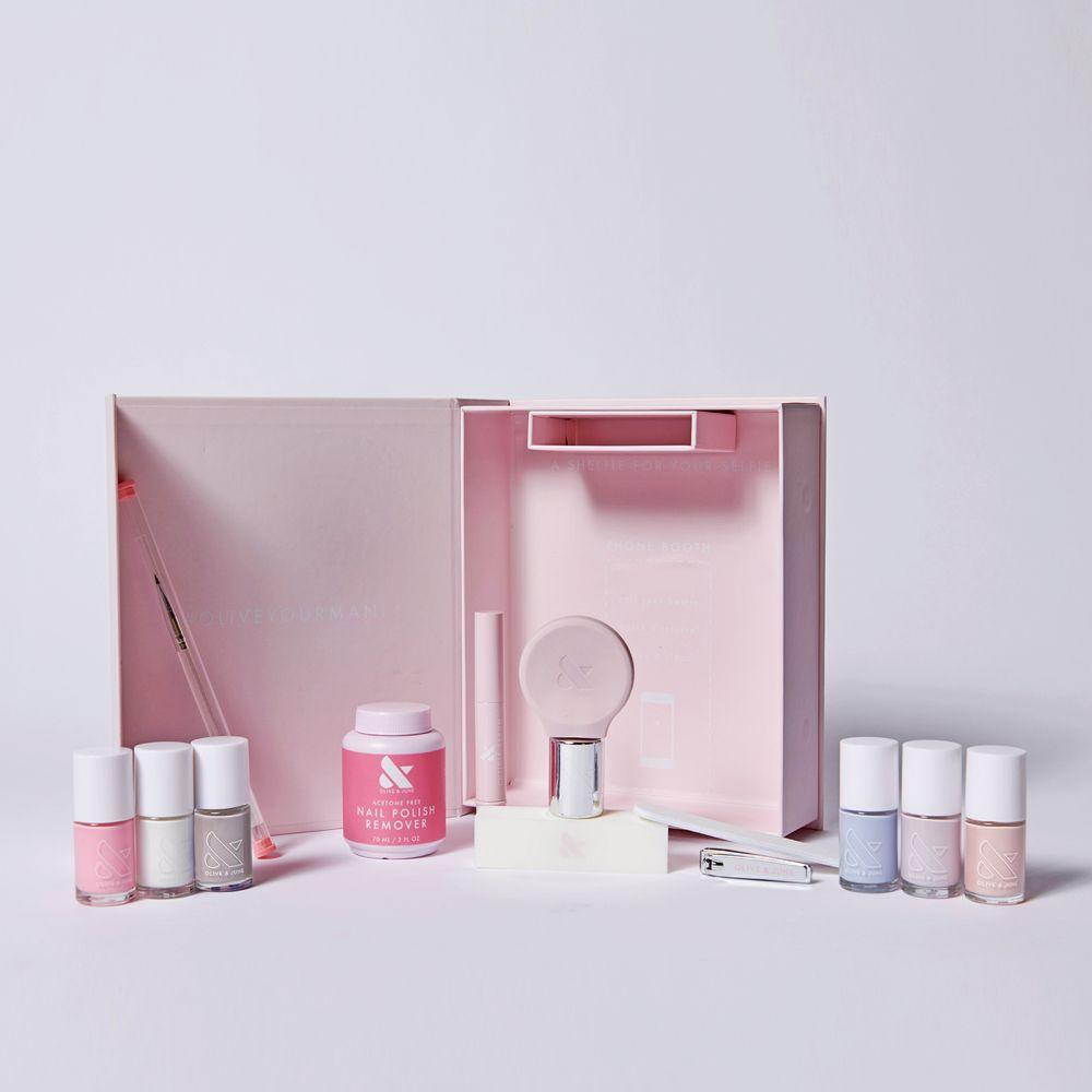 Floral Everything Box | Olive, june, Nail polish, Edge nails