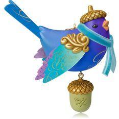 2014 Four Calling Birds - Christmas Ornaments - Hallmark ...