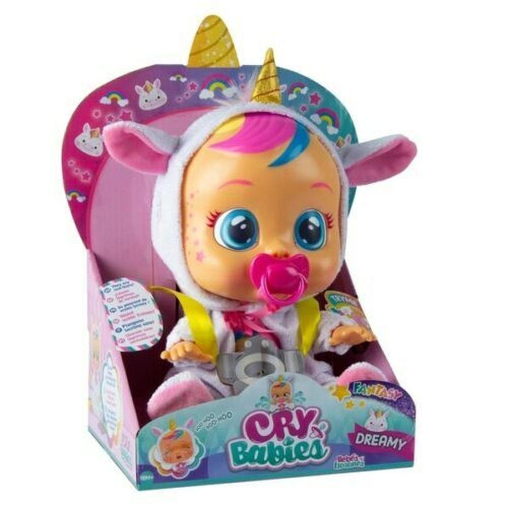 Boneca Cry Babies Dreamy Unicornio Chora Com Som E Lagrimas Nas Americanas Bebe Chorao Brinquedos De Bebe Menina Boneca Que Chora
