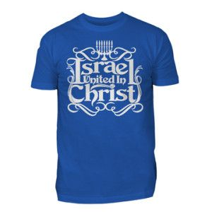 8096bf36758 IUIC T-shirt in Blue and White