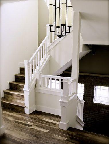 3/4' walnut - clear polyurethane brantley palmer - traditional - staircase - denver - Jamestown Builders