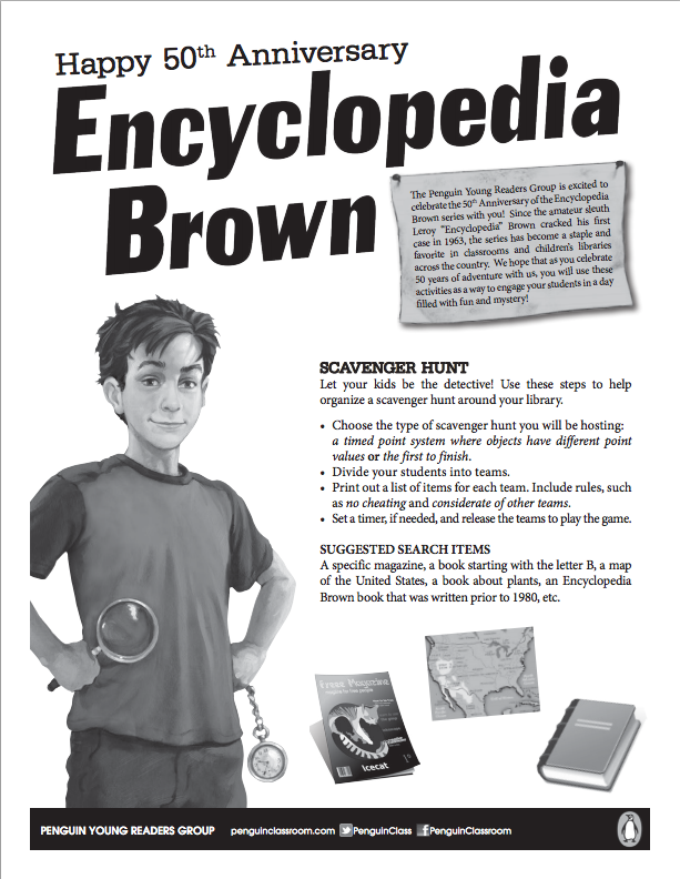 Encyclopedia Brown Boy Detective Pdf