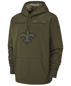 212ffa30 Nike Men's New Orleans Saints Salute To Service Therma Hoodie ...