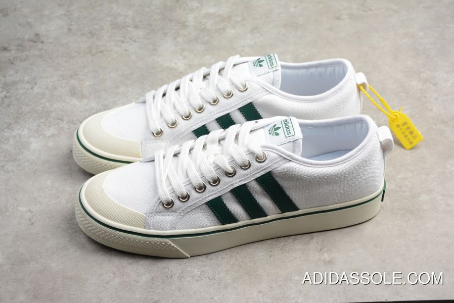Discount Adidas Nizza White Green