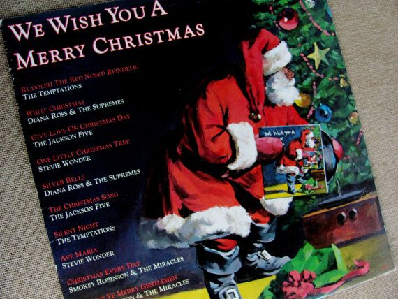 record album 1978 motown we wish you a merry by oldlikeus on etsy