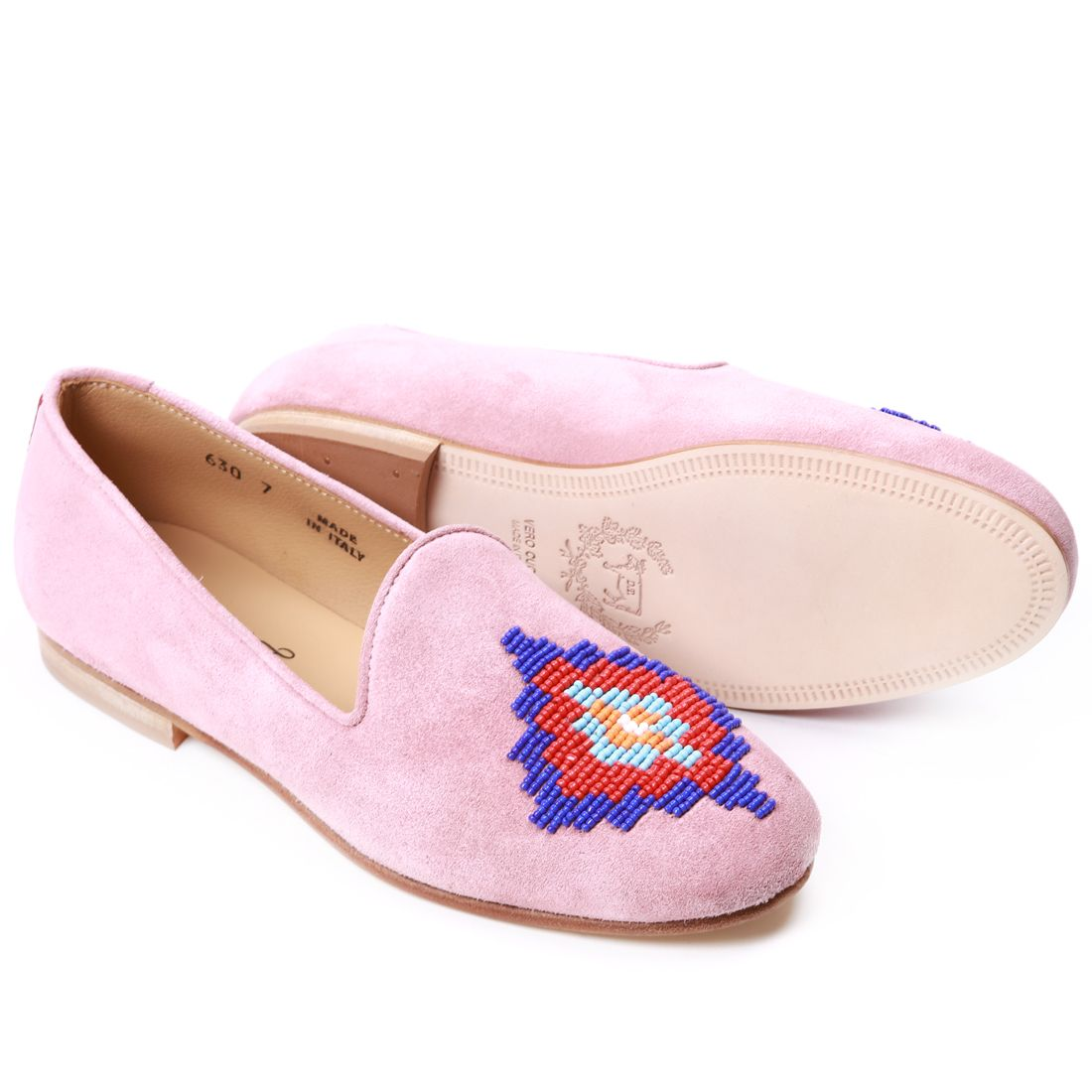 """Women's """"High Road To Taos 2.0"""" Collection - Rose Beading 'Cinque' Slipper - Women's"""
