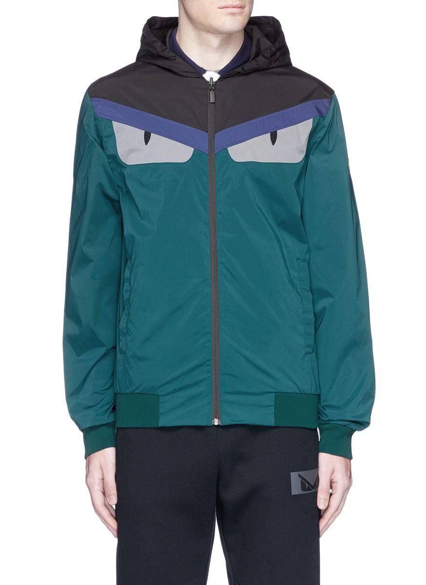 689682b5a FENDI Bugs Panel Reversible Windbreaker Jacket.  fendi  cloth ...