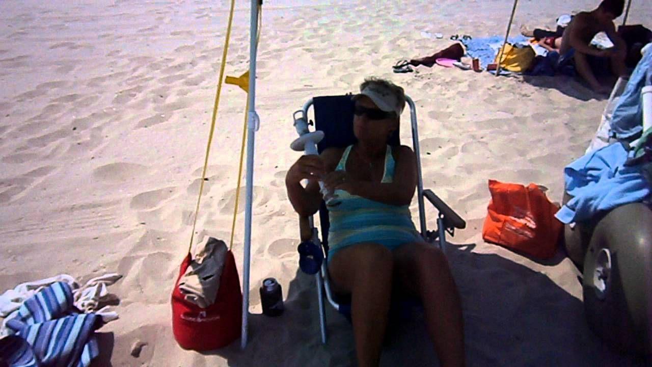 A Sand Convert Loves The New Beach Umbrella Anchor Shade Bag