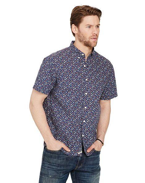 Floral Cotton Sport Shirt - Denim & Supply  Standard Fit - RalphLauren.com