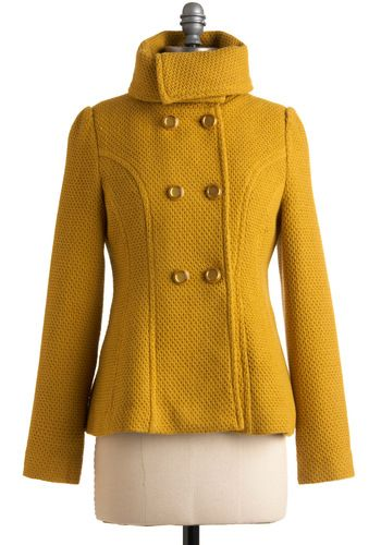 c4bffd1885b3 yellow jacket. I love this coat! Yellow is one of my favorite colors! Mustard  Colour Coat