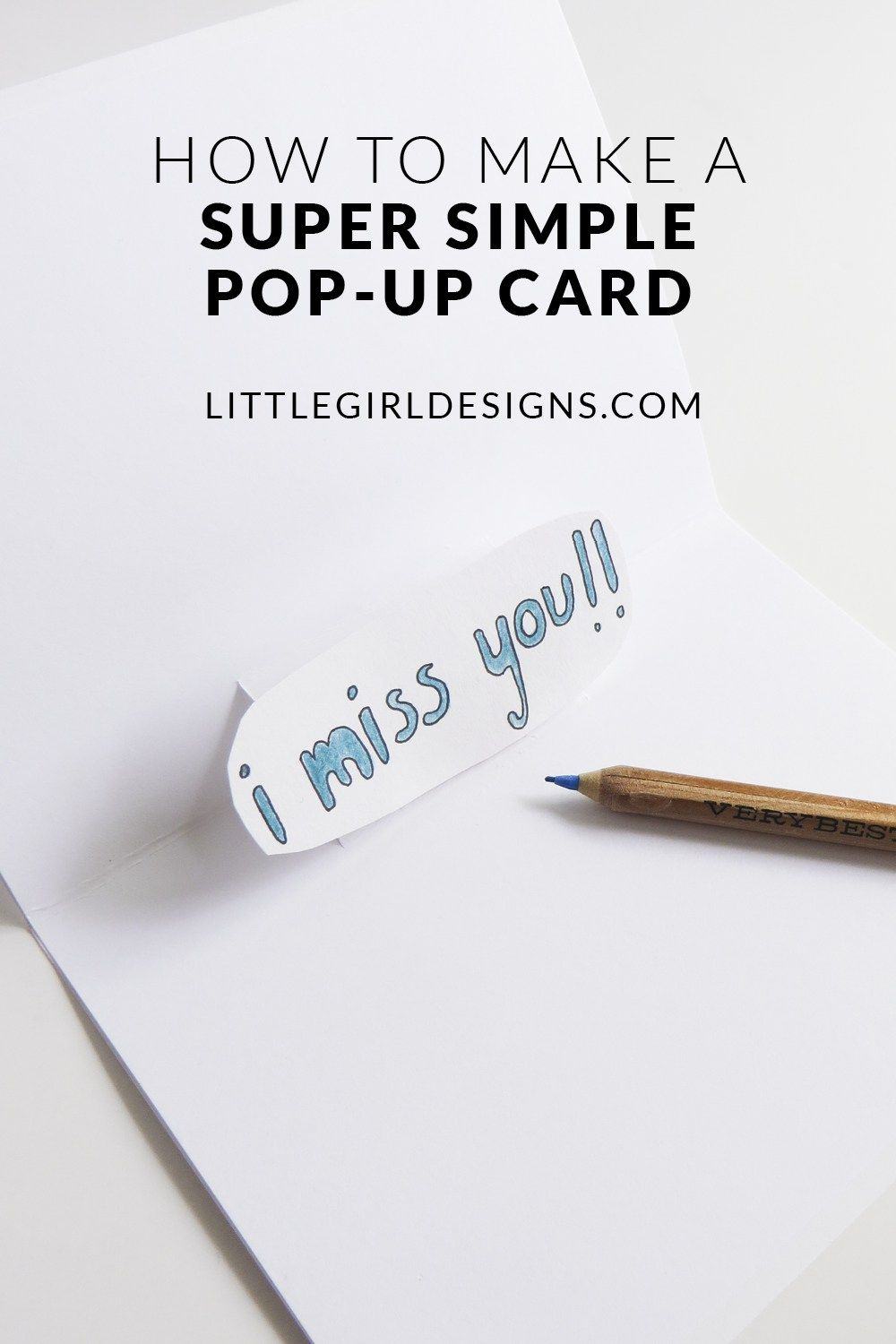 Pop Up Card For Pocket Letters The V W Card Tutorial Pocket Letters Card Tutorial Pocket Letters Tutorials