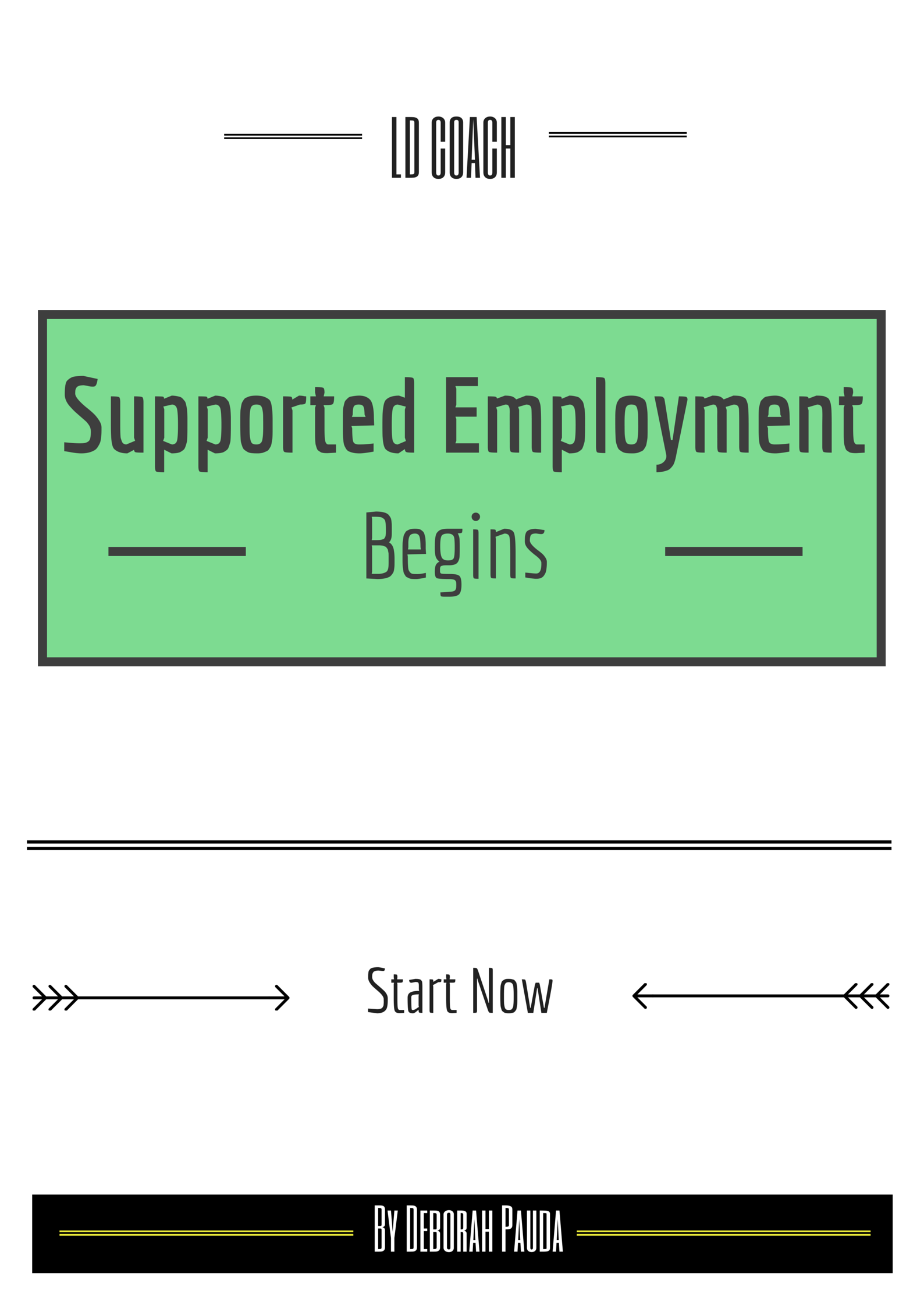 Supported Employment Begins