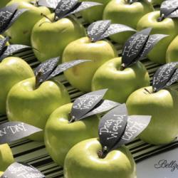 DIY apple table cards... yum!