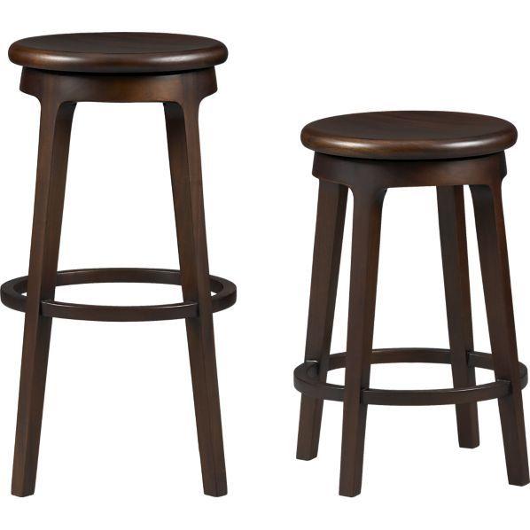 Remarkable Kitchen Island Barstools 3 Crate And Barrel Furniture Ibusinesslaw Wood Chair Design Ideas Ibusinesslaworg