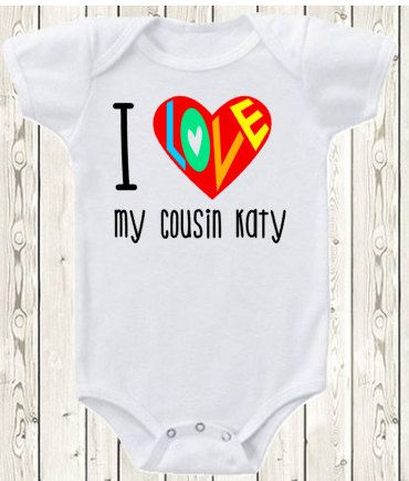 Personalized cousin onesie brand bodysuit or shirt pregnancy personalized cousin onesie brand bodysuit or shirt pregnancy announcement idea aunt uncle cousin custom onesie brand bodysuit or shirt by negle Gallery