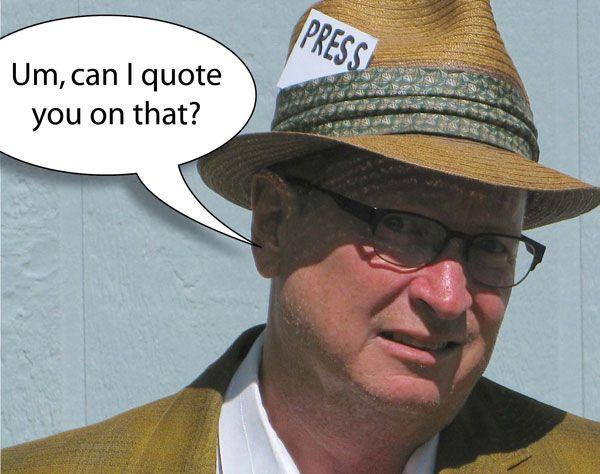 Inside the glamorous world of journalism. #bobwire #makeitmissoula #humorblog