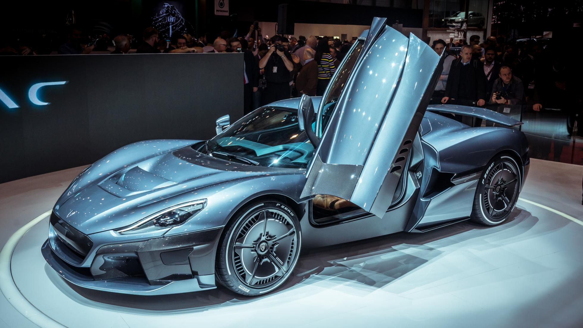 The Rimac C Two Is A 258mph Self Driving Electric Hypercar Self Driving Car Electricity