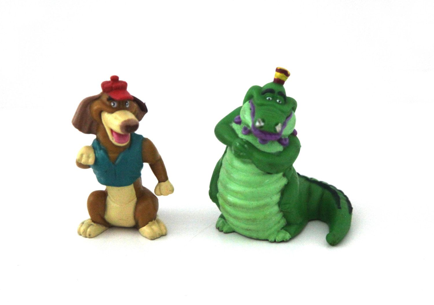 Vintage 80s All Dogs Go To Heaven Toys Figures Wendys 1989 By