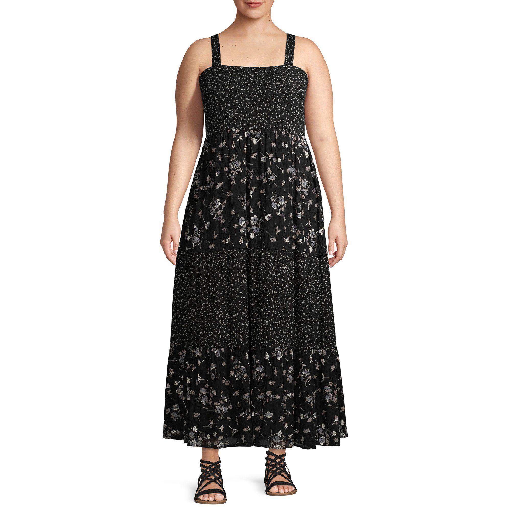 Terra Sky Terra Sky Women S Plus Size Twin Printed Tiered Maxi Dress Walmart Com Tiered Maxi Dress Dresses Maxi Dress [ 2000 x 2000 Pixel ]