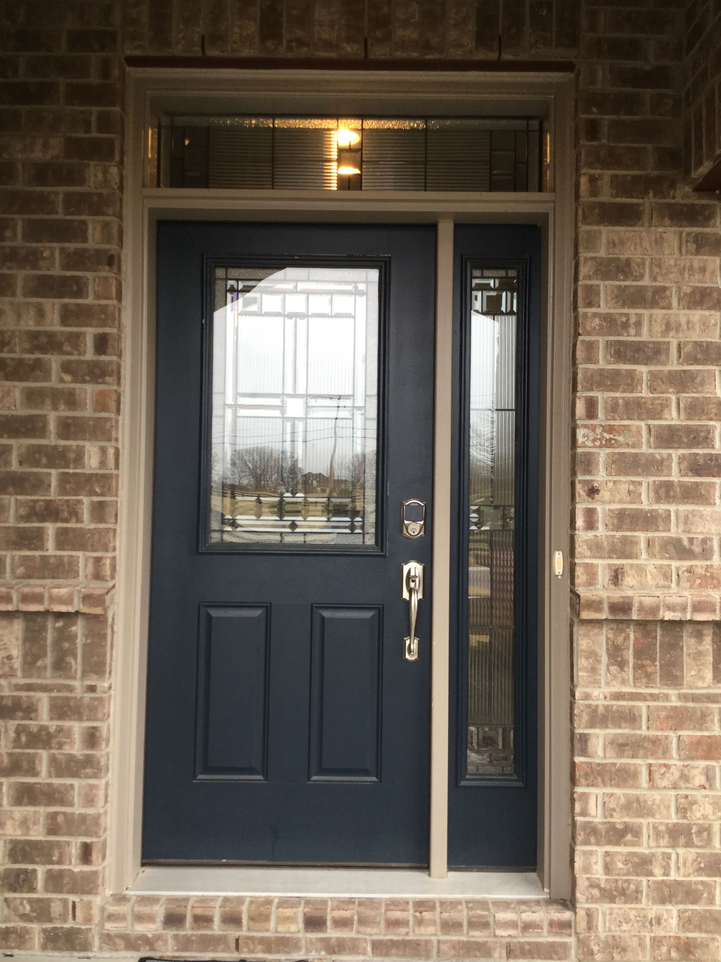 Superbe UPGRADED FRONT DOOR, SIDELITE, AND TRANSOM