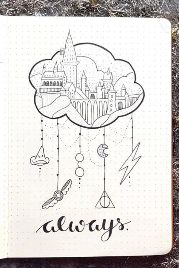 Best Harry Potter Bullet Journal Spread Ideas For 2019 – Crazy Laura