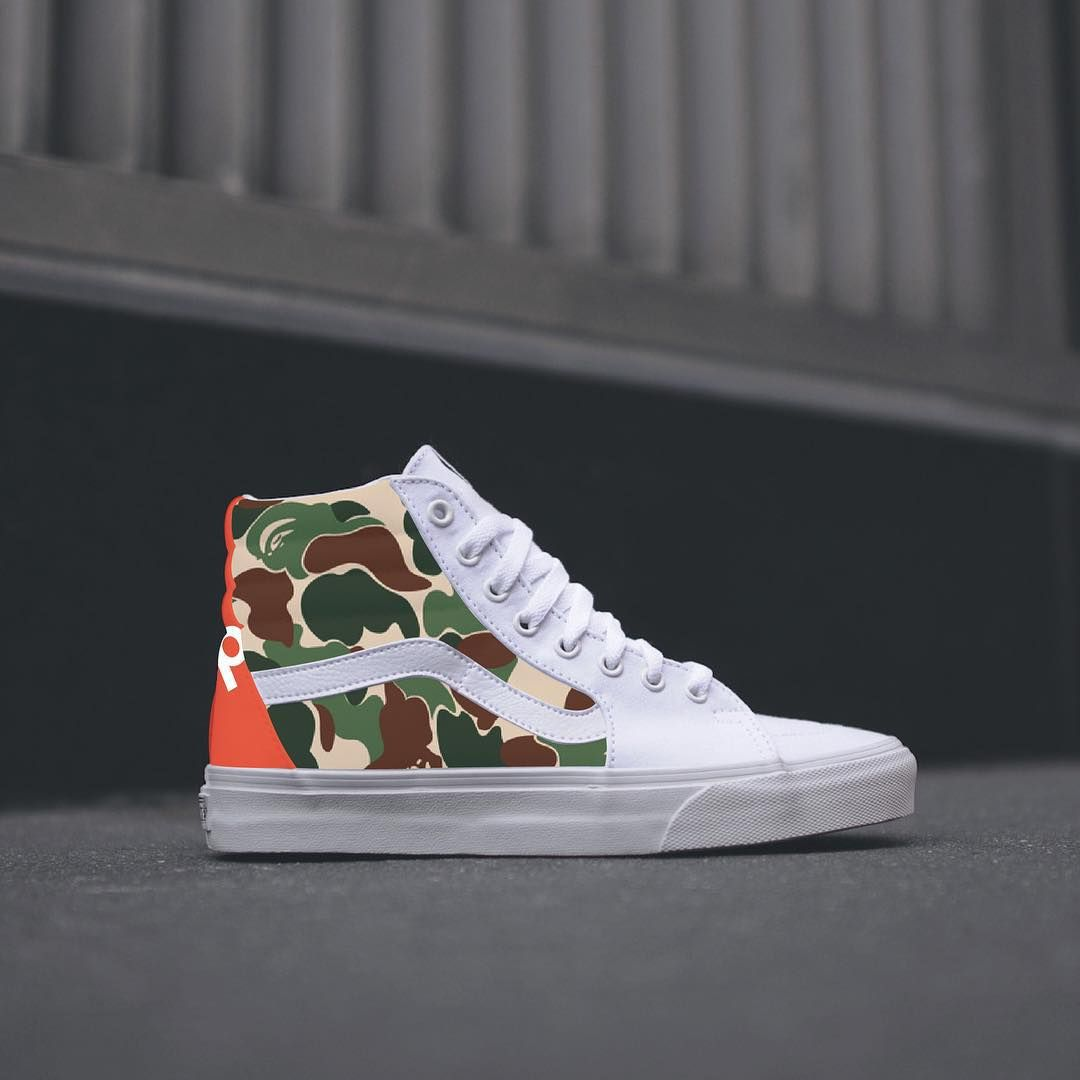 Supreme X Bape Vans. VERY limited. August 14.  c648d12b0