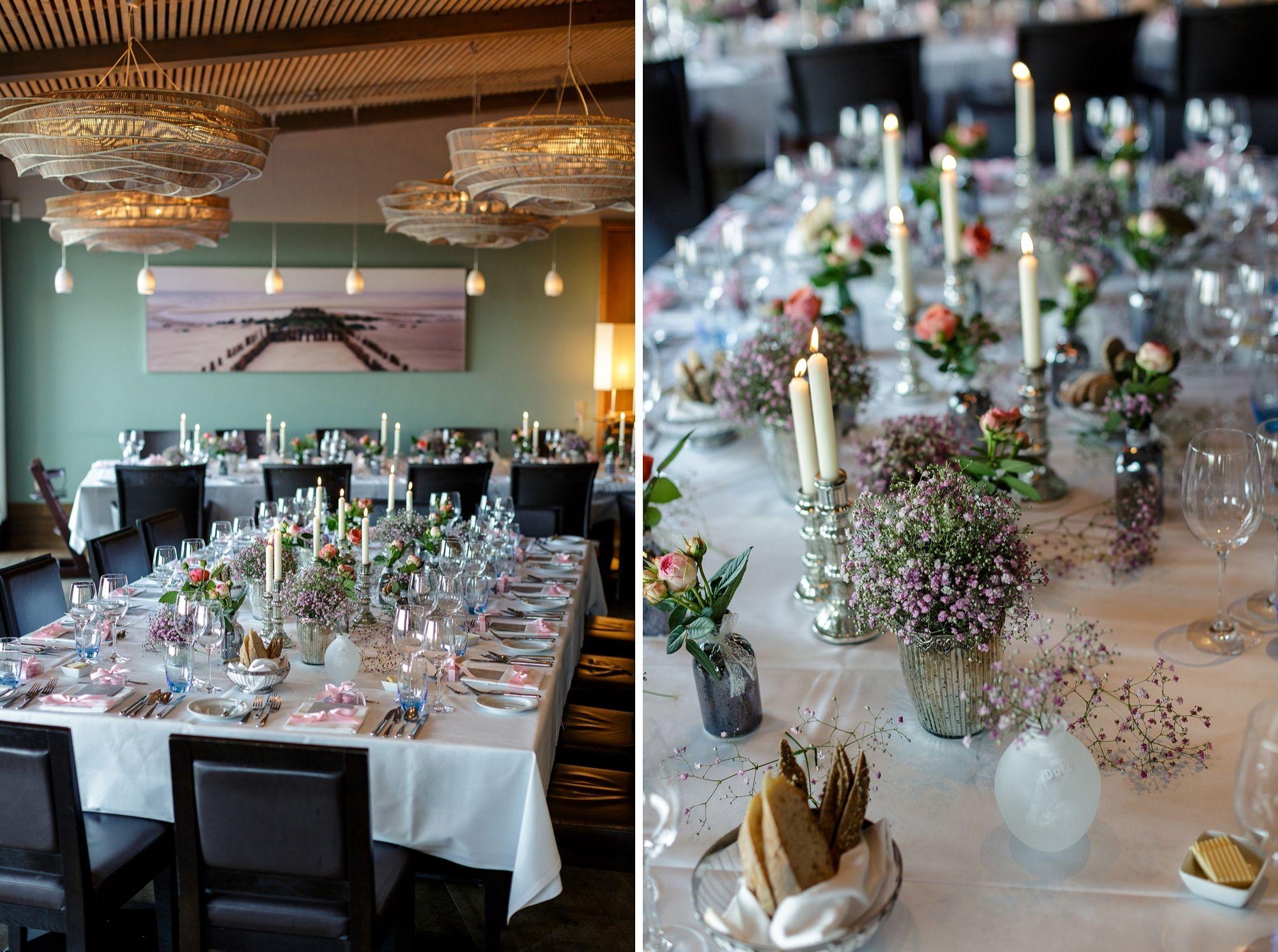 Hochzeit Im Str Nholt Sch Ne Atmosph Re Und Dekoration