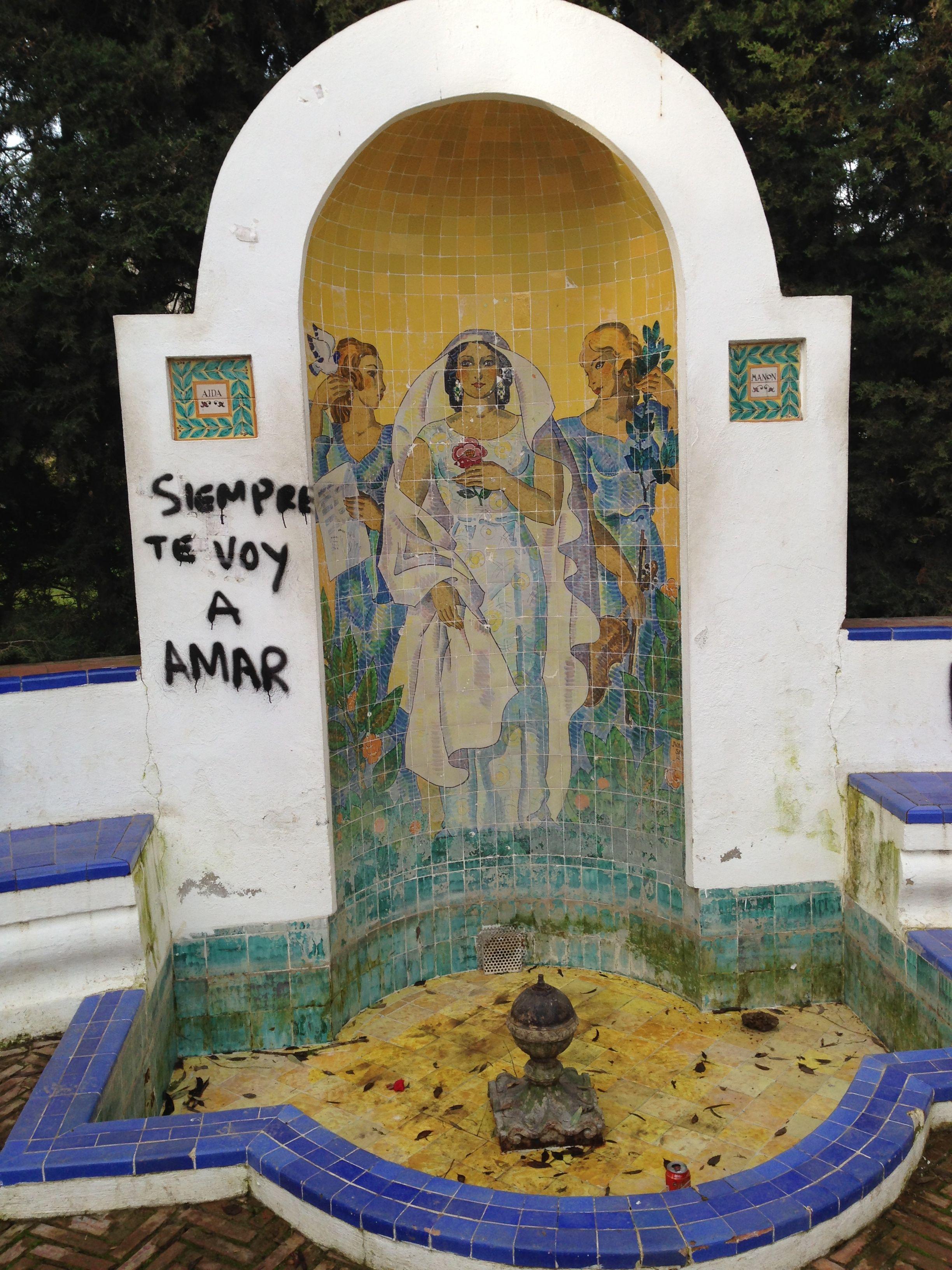 Glorieta de Ofelia Nieto. Parque de María Luisa, Sevilla. (foto de: @Javpolo)