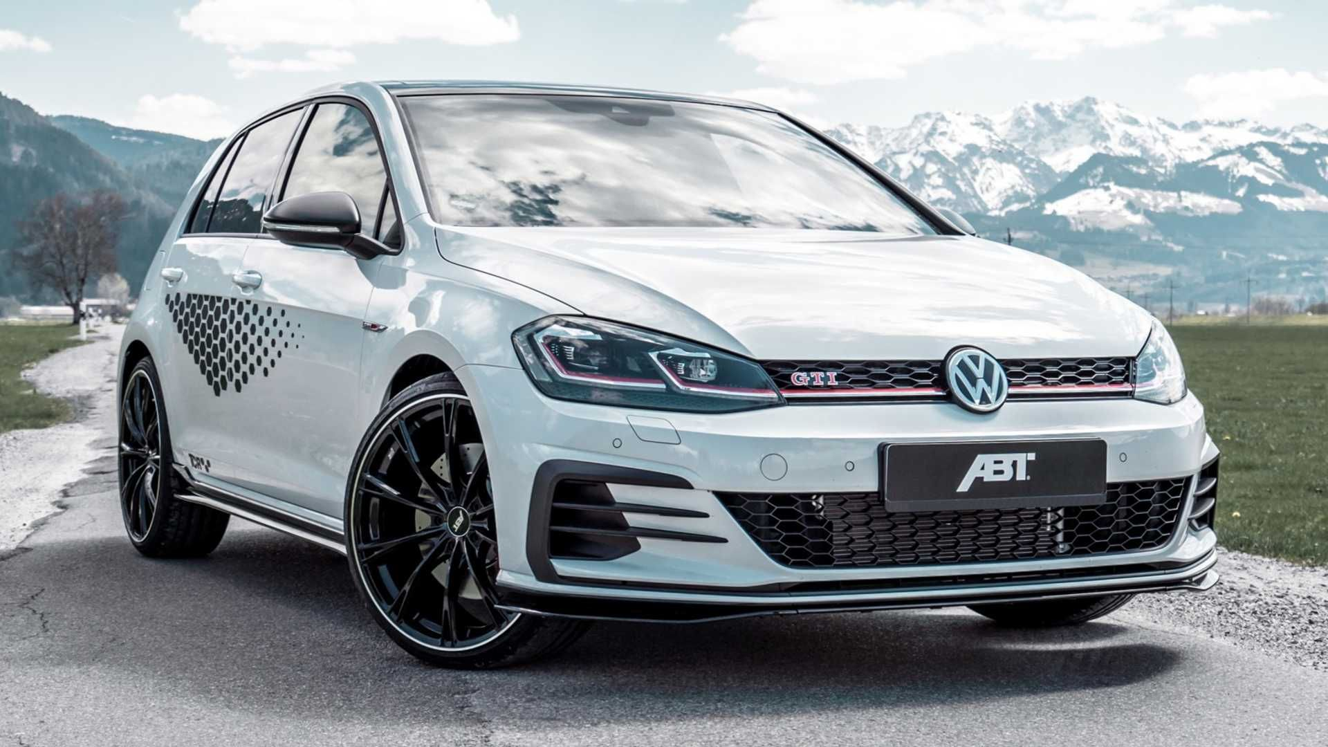 Vw Golf Gti Tcr Already Ramped Up To 335 Hp 250 Kw By Abt Golf Gti Vw Golf Gti