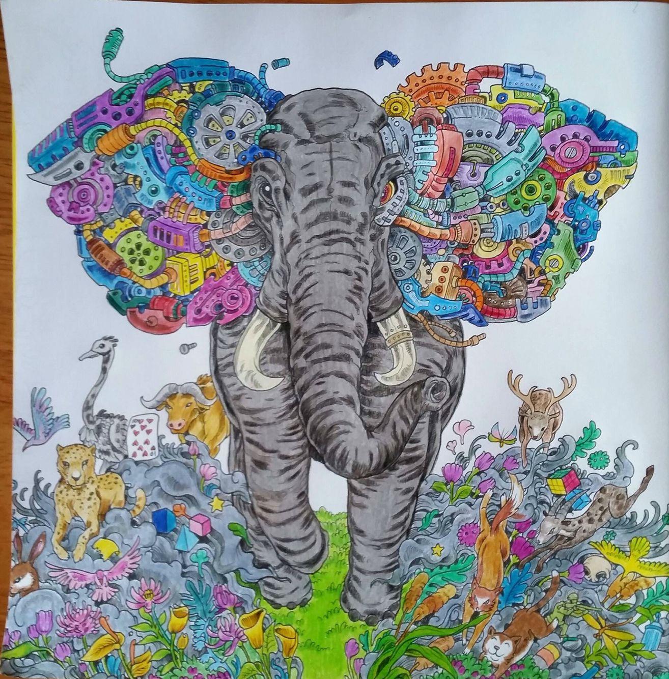 Imagimorphia | kerby rosanes | Pinterest | Coloring books, Adult ...