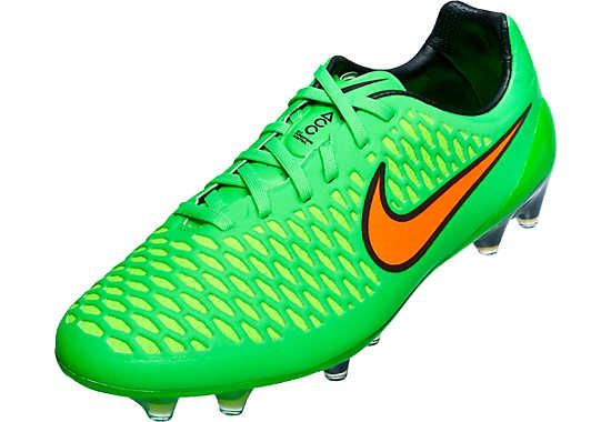 Nike Magista Opus FG Soccer Cleats Green and it here
