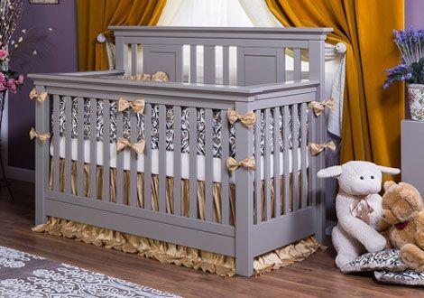 Karisma Convertible Crib By Romina, Romina Baby Furniture