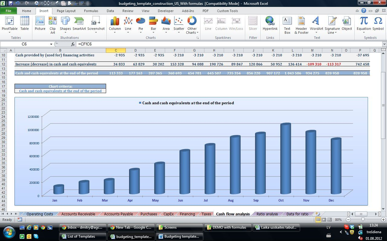 Small Business Excel Templates Bookkeeping