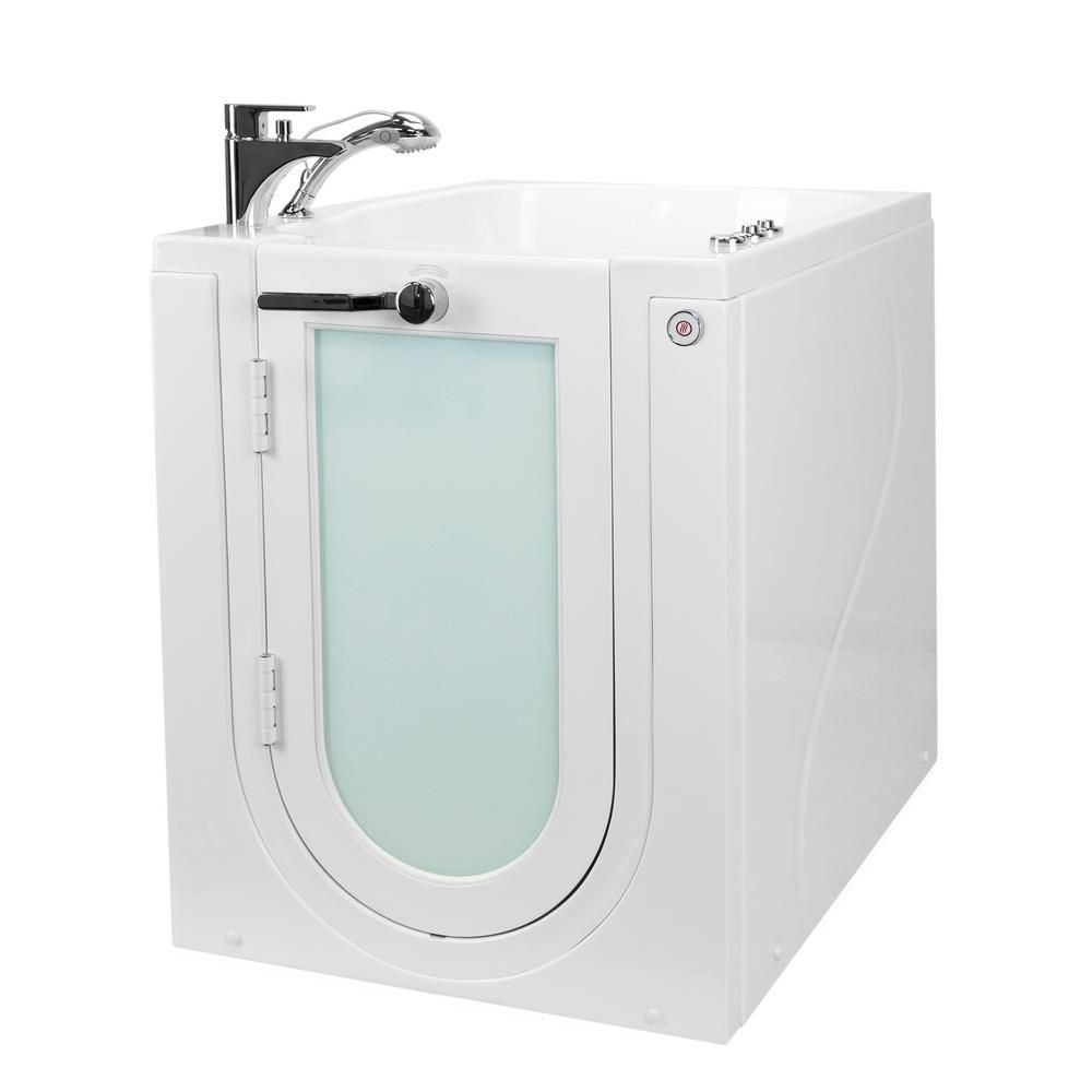 Ella Front Entry 32 In Walk In Whirlpool Micro Bubble Air