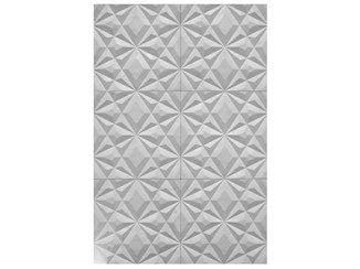 Indoor gypsum 3D Wall Surface ICE - Plasterego