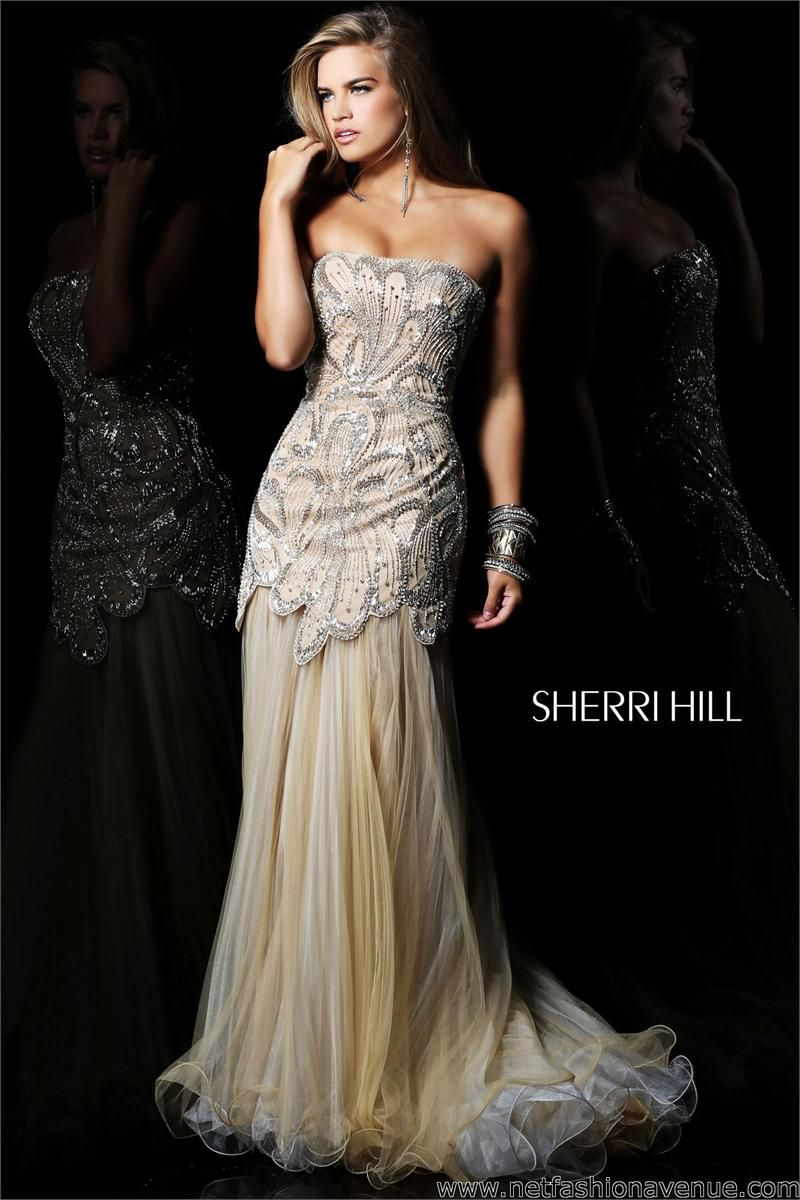 1000  images about Prom on Pinterest  Strapless organza Sherri ...