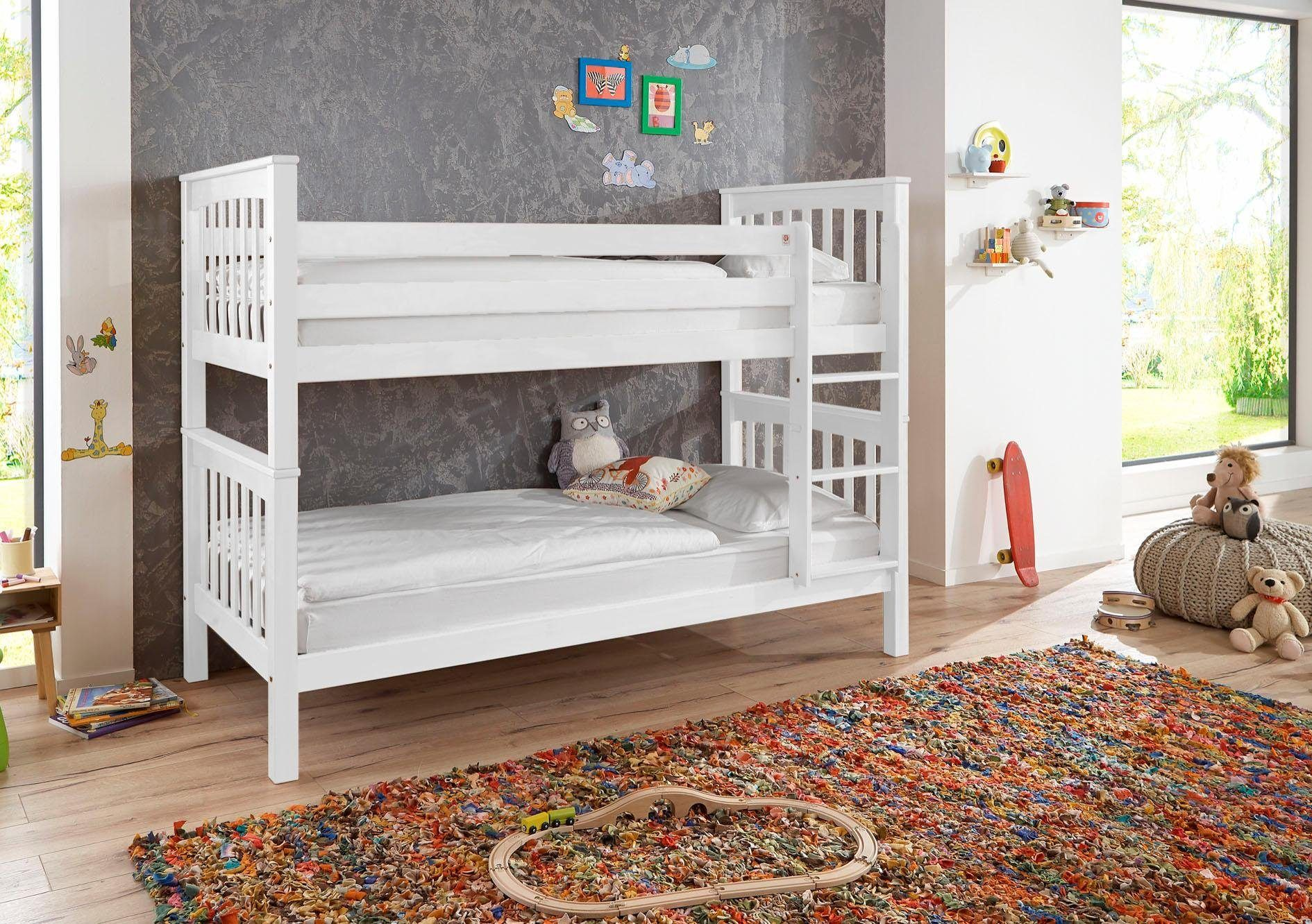 Ticaa Etagenbett Rene Weiß : Pin von ladendirekt auf kinderbetten pinterest etagenbett
