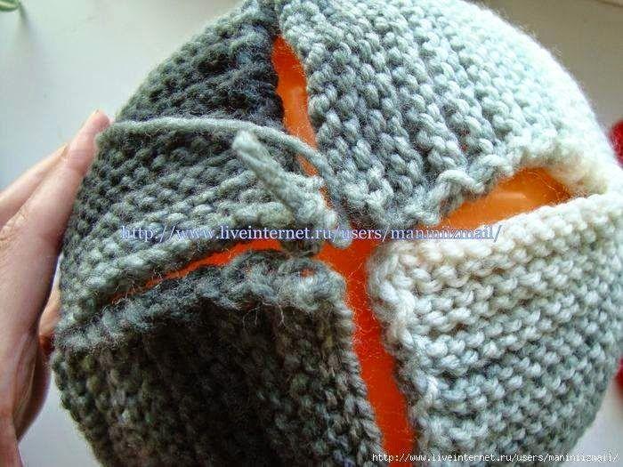 Gorro tejido con dos agujas punto santa Clara | Crochet y Dos agujas ...