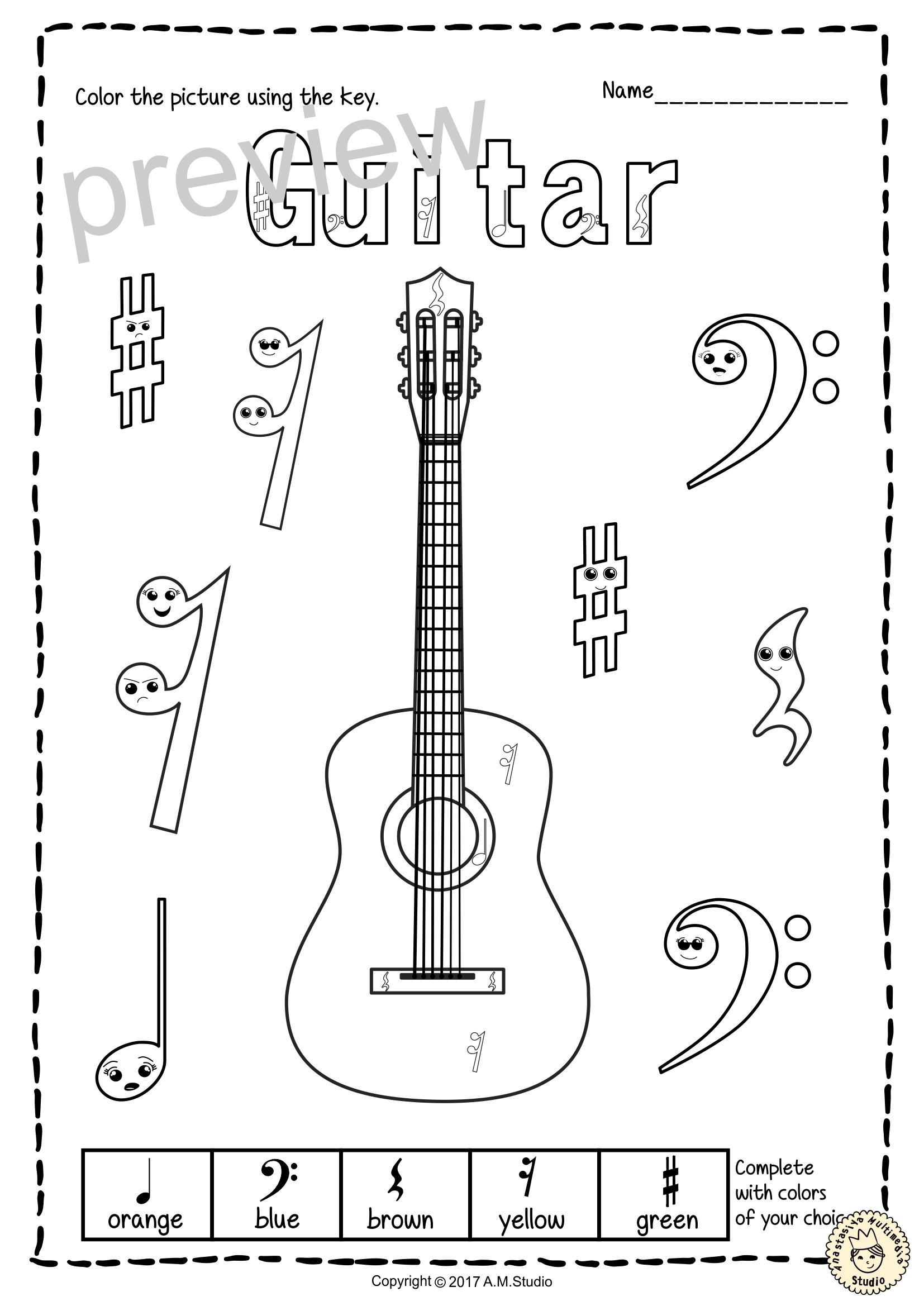 This Set Contains 10 Designs Of String Instruments Violin Viola
