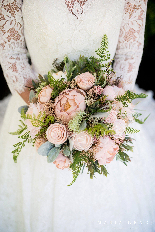 Wedding Bouquet,Bridal Bouquet,Organic Bridesmaids Bouquet,Peony Bouquet ,Kee..., #bouquet #...