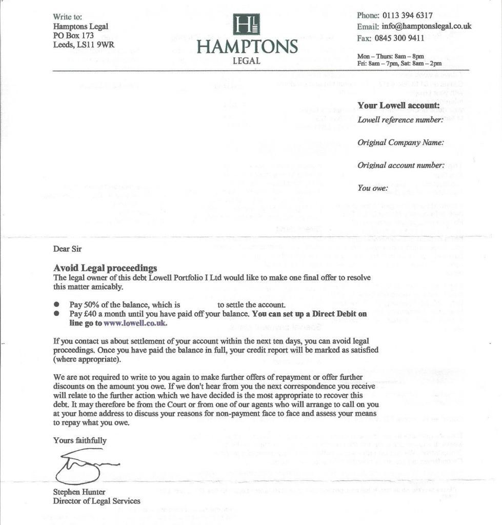 Full And Final Settlement Letter Sample Or In Full And Final For