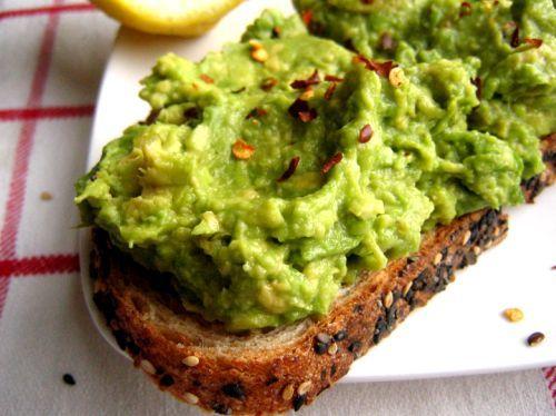 Avocado toast! I am smitten.