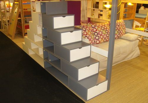 multifonction chambre enfants pinterest mezzanine escalier mezzanine et id es pour la maison. Black Bedroom Furniture Sets. Home Design Ideas