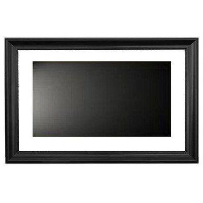 Lcd fashion small black universal tv frame
